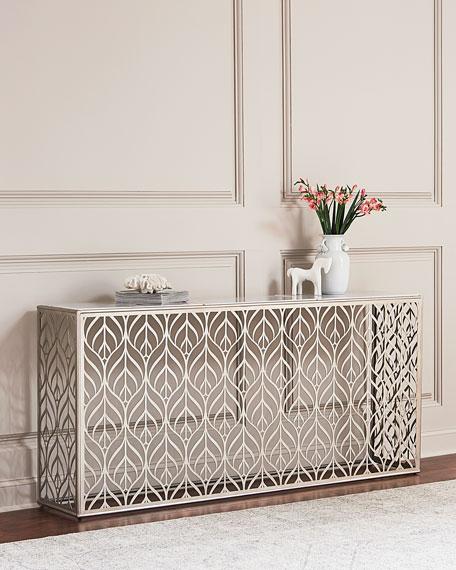 Hooker Furniture Elegant Ellison Metal Console