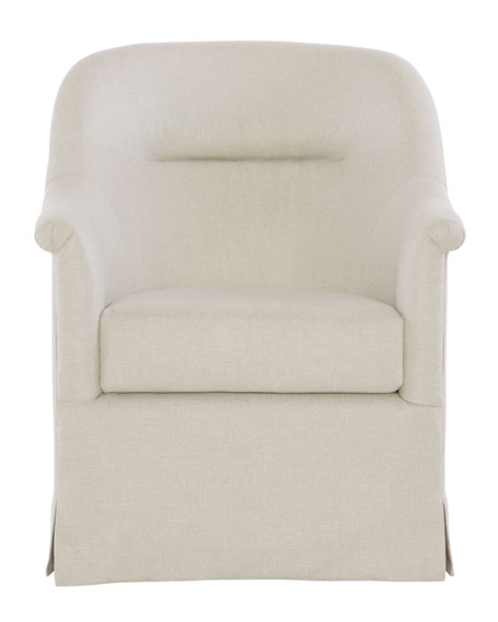 Alisa Skirted Accent Chair