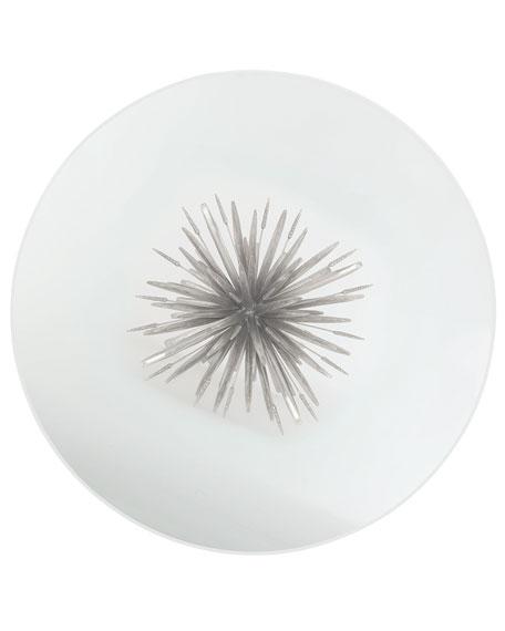 Gwinn Glass-Top Dining Table