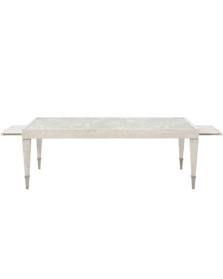 Bernhardt Damonica Oak Coffee Table