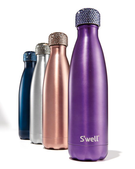 Radiance 17-oz. Reusable Bottle with Crystal Cap, Purple