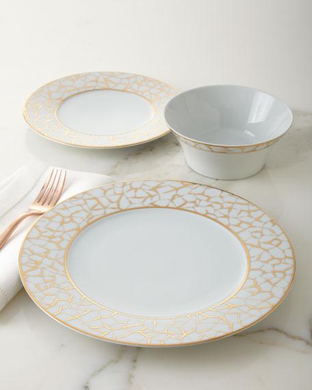 Neiman Marcus 12-Piece Emerald Dinnerware Service