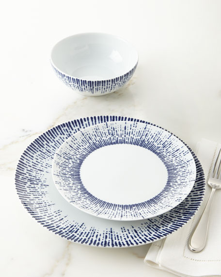 Exclusive 12-Piece Drizzle Dinnerware Service