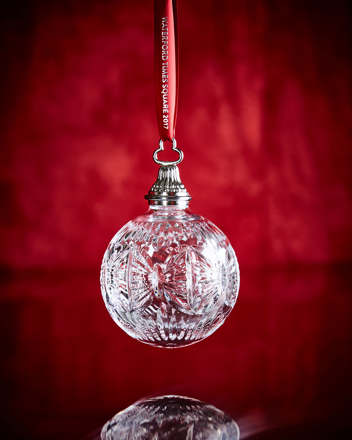 Waterford crystal times square ball ornament neiman marcus - Waterford crystal swimming pool times ...
