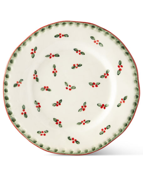 Holiday Salad Plates, Set of 4