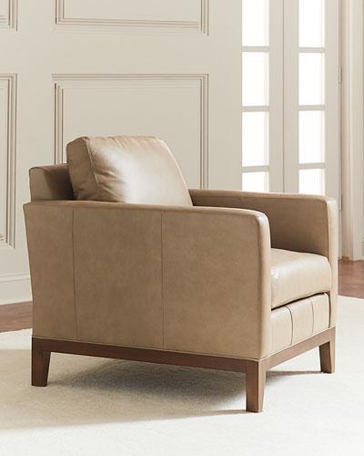 Eben Leather Club Chair