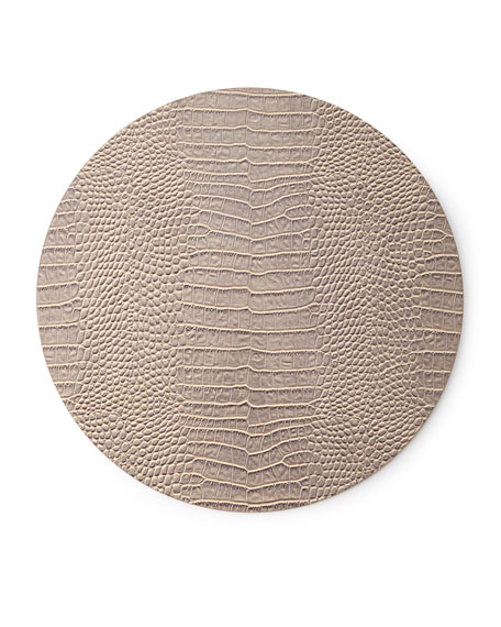 Everglade Placemat, Taupe