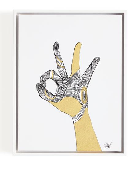 Sign Language II Giclee