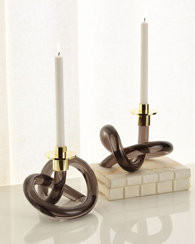 Ava Candleholders, Set of 2