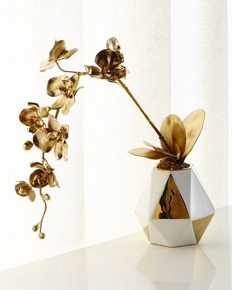 Diamonds and Gold Arrangement