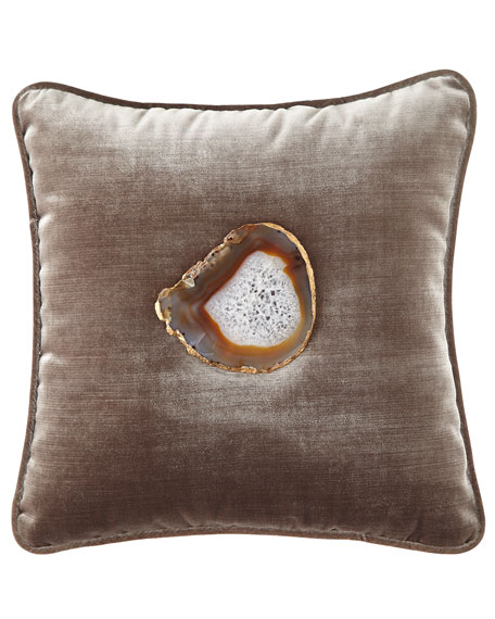Steele Agate Pillow
