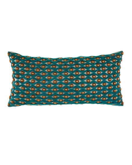 Sabira Decorative Teal Pillows & Matching Items