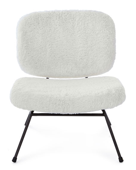Astor Faux-Fur Accent Chair
