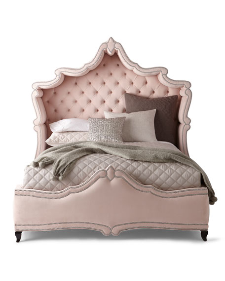 Queen Blush Antoinette Bed