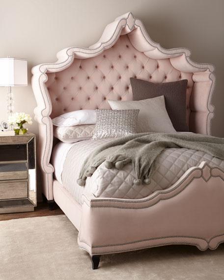 Blush Antoinette California King Bed