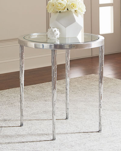 Elsa Icicle Motif Side Table
