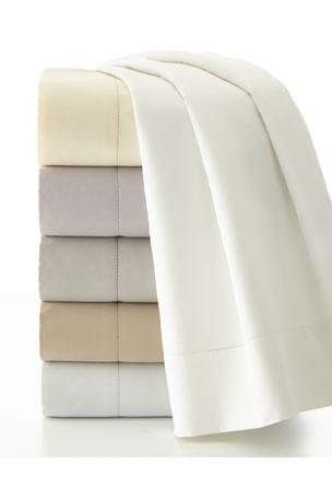 Charisma Standard Ultra Solid 610 Thread Count Pillowcases, Set of 2