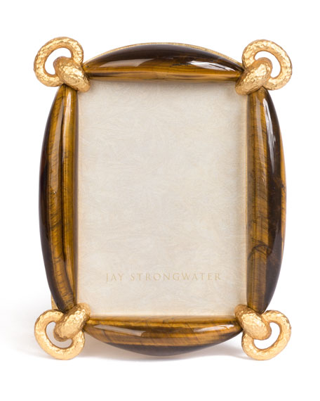 "Blaine Tiger Eye Picture Frame, 3"" x 5"""