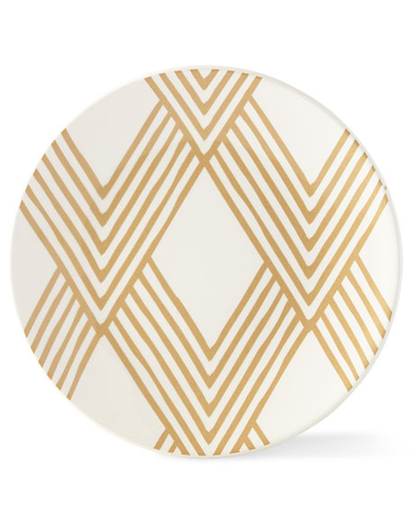 Woven Cobble Salad Plates, Set of 4