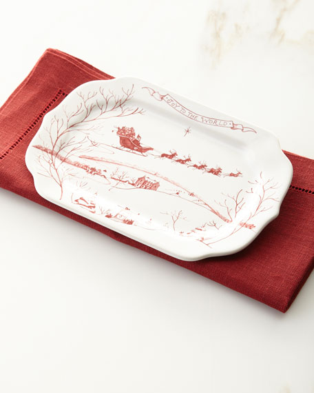 Country Estate Winter Frolic Tray