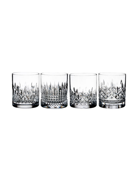 Waterford Crystal Lismore Evolution Tumblers, Set of 4