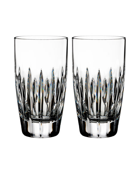 Mara Crystal Hiball Glasses, Set of Two