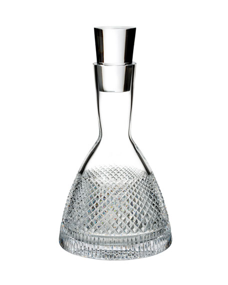 Waterford Crystal Diamond Line Crystal Decanter