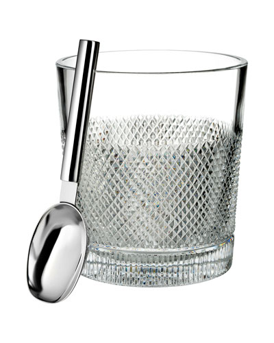 Diamond Line Ice Bucket w/ Scoop
