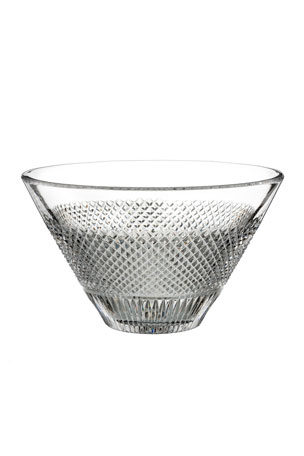 Waterford Crystal Diamond Line Crystal Bowl - 8""