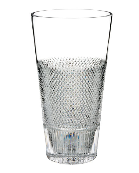 Waterford Crystal Diamond Line Crystal Vase - 12