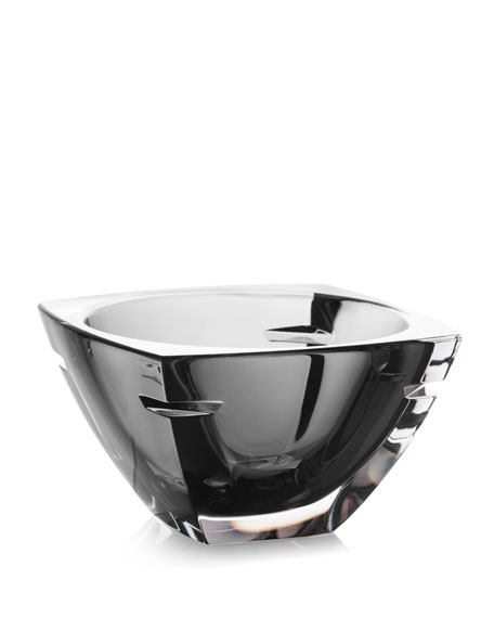 Waterford Crystal W Crystal Bowl, Smoke, 7