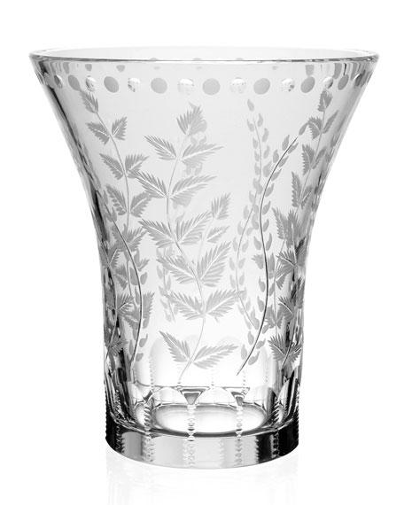 """Fern Flower Vase, 8"""""""