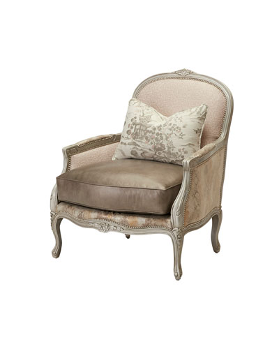 One-of-a-Kind Olson Bergere Chair