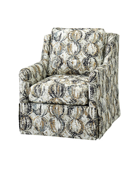 One-of-a-Kind Bearden Swivel Chair