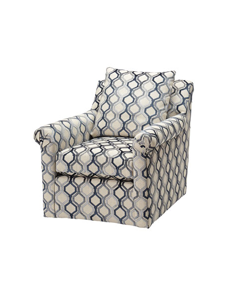 One-of-a-Kind Etta Swivel Chair