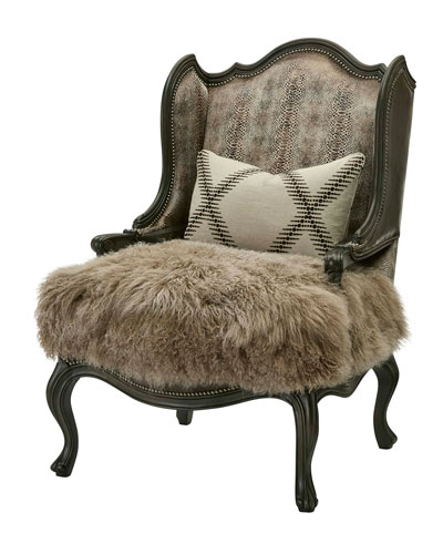 One-of-a-Kind Modlin Wing Chair