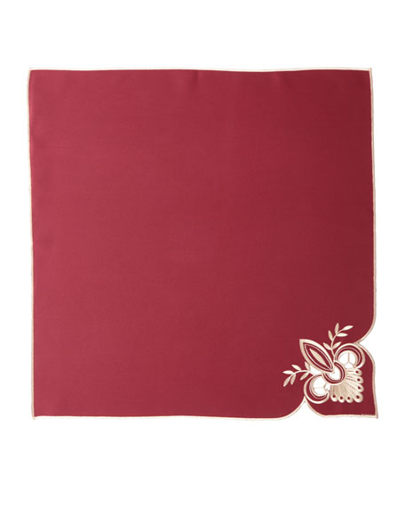 "Ellino 22""Sq. Napkins, Set of 4"