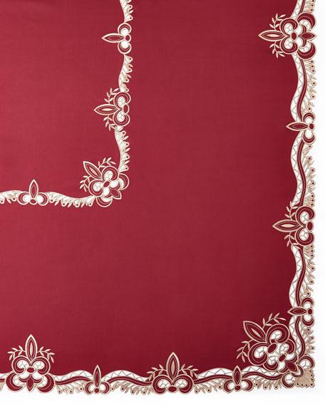 "Ellino 72"" x 126"" Tablecloth & 12 Napkins"