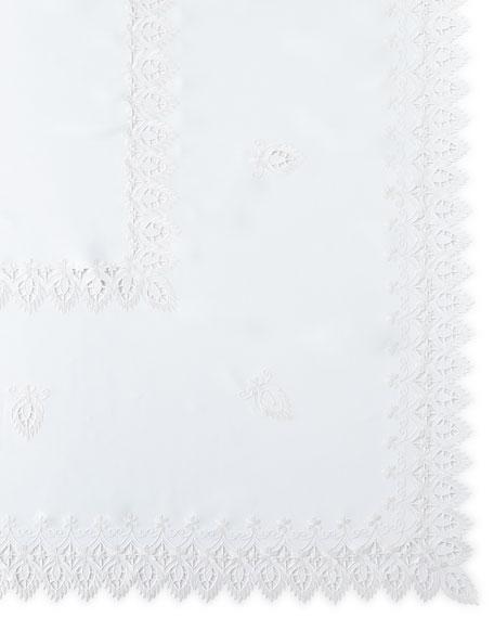 """Zella 72"""" x 108"""" Tablecloth & 12 Napkins"""