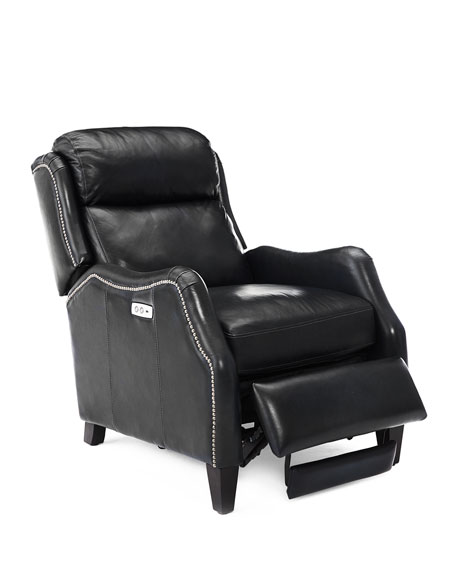 Cleo Leather Powered Recliner Chair