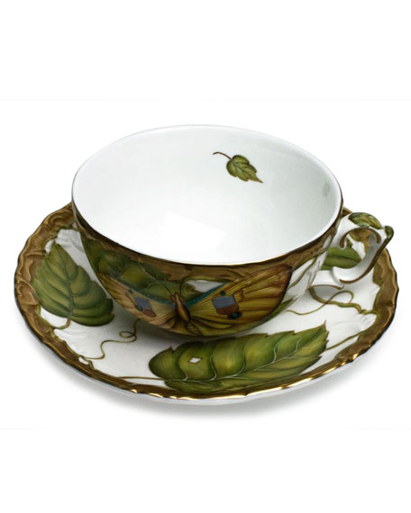 Anna Weatherley Anna Weatherly Exotic Butterflies Teacup and