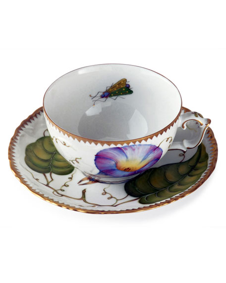 Treasure Garden Teacup and Saucer