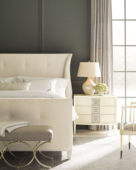 Elisse California King Tufted Bed