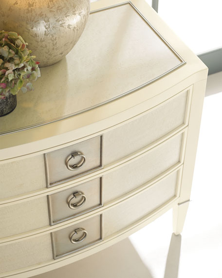 Elisse Three-Drawer Night Stand
