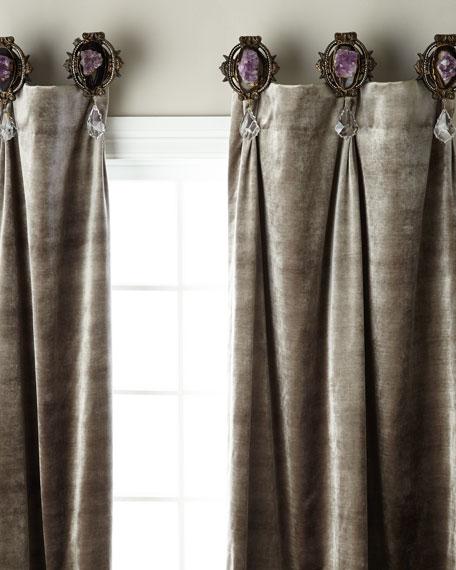 Each Palermo Geode Curtain Tieback