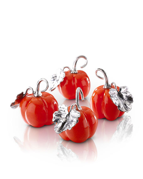 Buccellati Pumpkin Place Card Holders, Set of 6