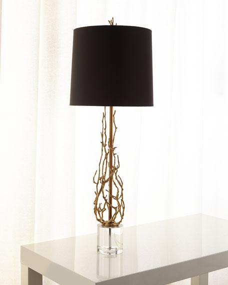 Ingrid Brass Twig Table Lamp