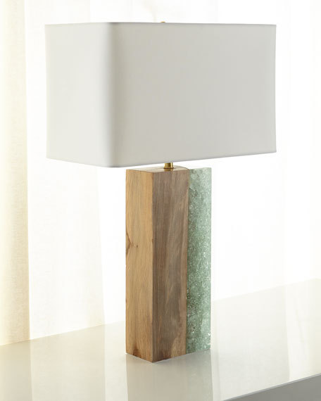Regina Andrew Design Venus Birch Wood Table Lamp