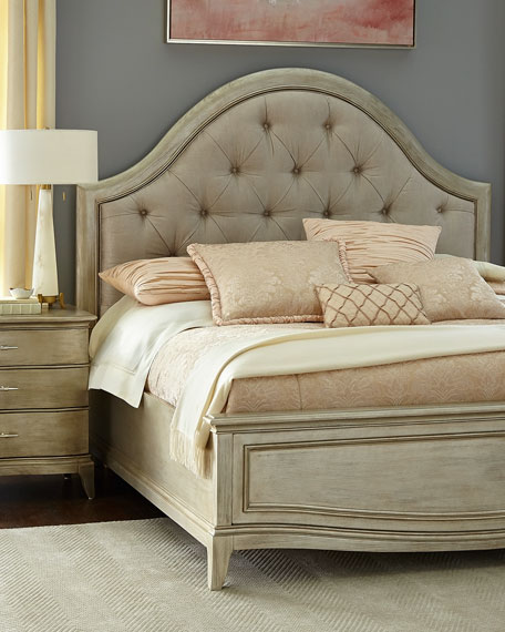 Montane Tufted King Bed with Drawers