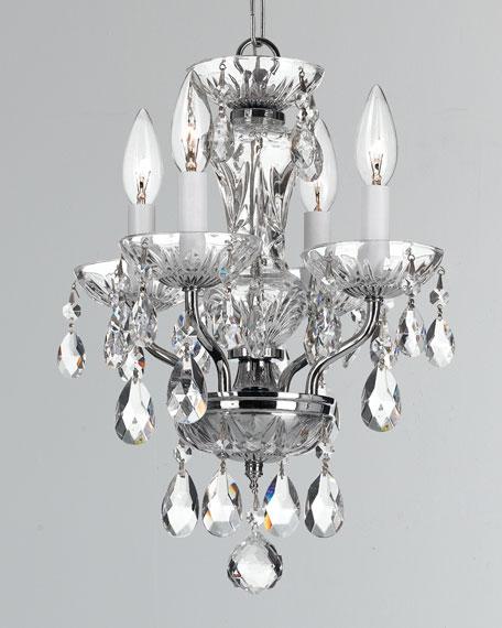 Cody 2-Light Crystal Polished Nickel Sconce